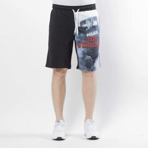 Szorty Mass Denim Not Welcome Sweatshorts multicolor