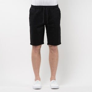 Szorty Mass Denim Shorts Chino Classics straight fit black SS 2017