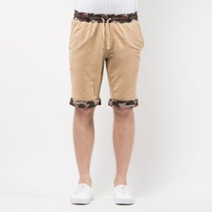 Szorty Mass Denim Sweatshorts Patrol beige SS 2017