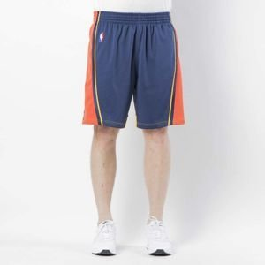 Szorty Mitchell & Ness Golden State Warriors 2009 - 10 navy Swingman Shorts