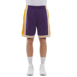 Szorty Mitchell & Ness Los Angeles Lakers purple/yellow Swingman Shorts