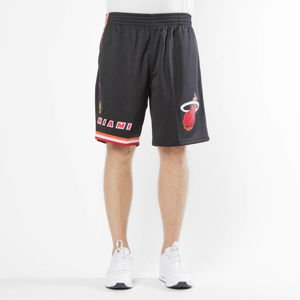 Szorty Mitchell & Ness Miami Heat black Swingman Shorts
