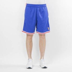 Szorty Mitchell & Ness Philadelphia 76ers royal Swingman Shorts