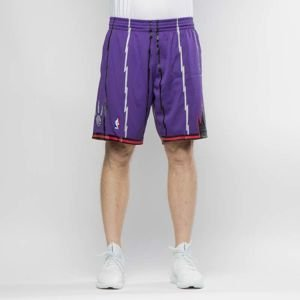 Szorty Mitchell & Ness Toronto Raptors purple Swingman Shorts