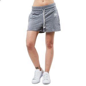Szorty Stussy Basic Stussy Gym Shorts grey heather WMNS
