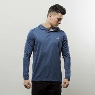 The North Face bluza Reactor Hoodie shady blue heather T92XL7HKW