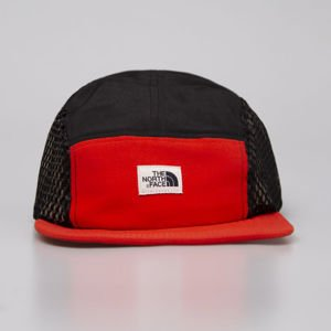 The North Face czapka 5-panel Class V Five Panel H fiery red / tnf black