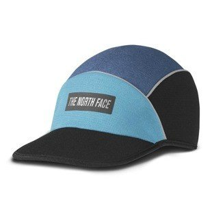 The North Face czapka 5-panel Pop-Up Run Hat shady blue heather / blue moon heather