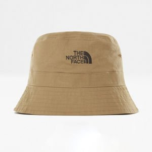 The North Face kapelusz Cotton Bucket Hat kelp tan