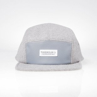 Turbokolor czapka strapback 5Panel Pagan Hat grey
