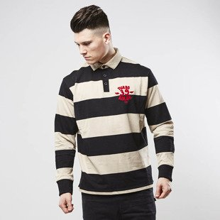 Turbokolor koszulka Longsleeve Polo black / white