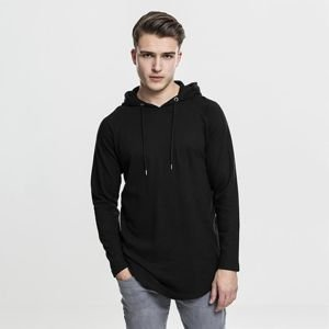 Urban Classics bluza Long Shaped Terry Hoody black TB1779