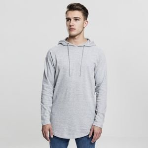 Urban Classics bluza Long Shaped Terry Hoody grey TB1779