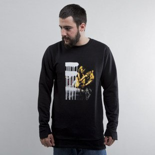 Urban Flavours bluza NYC SOHO Picture Crewneck black
