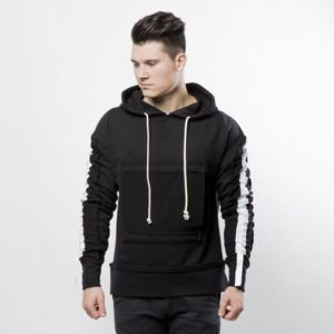 Urban Flavours bluza Stripe White Hoodie black / white