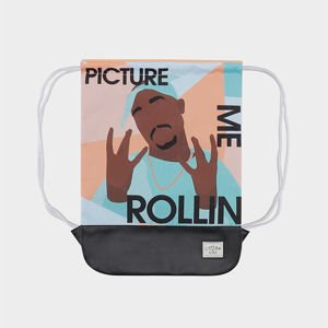 Worek Cayler & Sons White Label Me Rollin' Gymbag multicolor