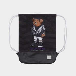Worek Cayler & Sons White Label Purple Swag Gymbag black