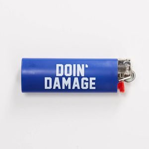 Zapalniczka Carhartt WIP Doin' Damage Lighter royal