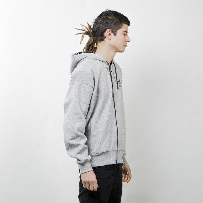 Adidas Originals bluza Brand Zip Hoody melange grey AY9301