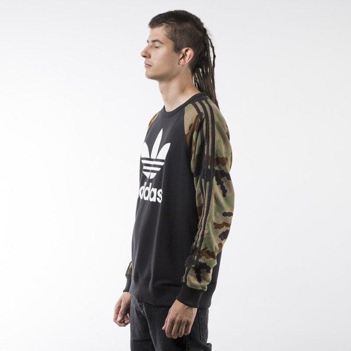 Nowa Bluza Męska Adidas Camo Pack Crew AY8174 M