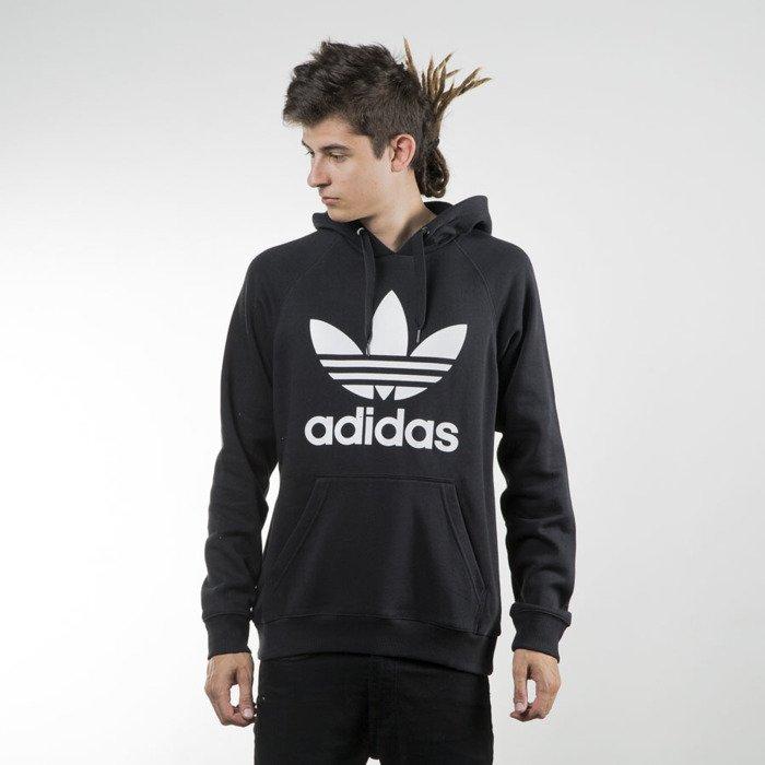 Adidas Originals bluza sweatshirt Orig 3Foil Hood black (AB8291)