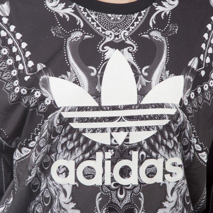 Adidas Originals bluza sweatshirt Pavao crewneck black (AY6873)