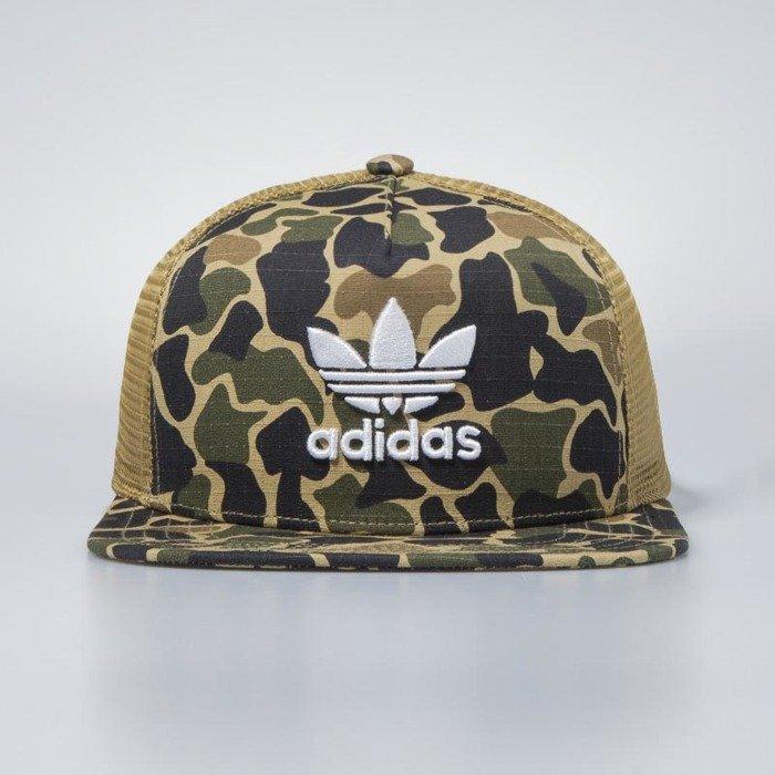 wiele modnych różnie wielka wyprzedaż uk Adidas Originals czapka damska Trucker Cap Camouflage dark sahara CE4869