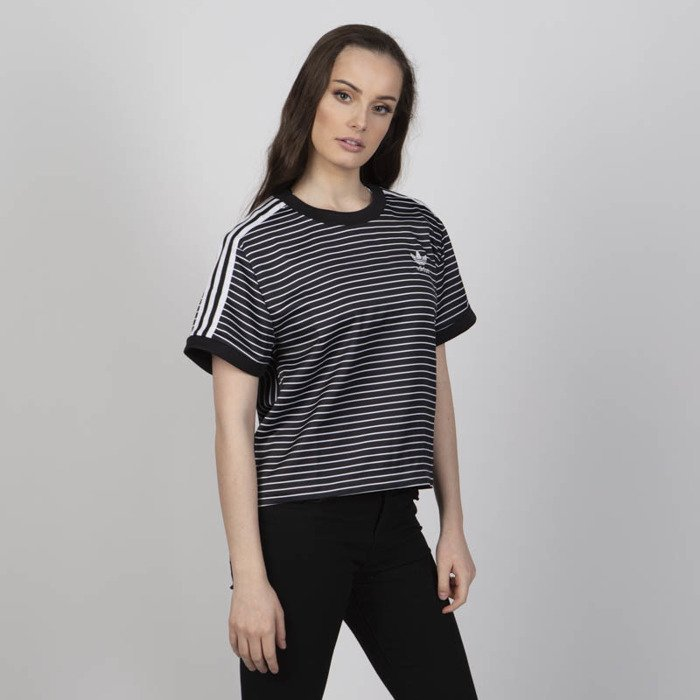 Adidas Originals koszulka damska 3 Stripes Tee black