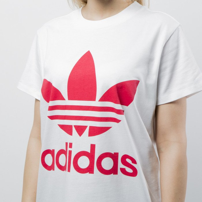 Koszulka damska Adidas Originals t shirt Big Trefoil Tee white (CY2275)