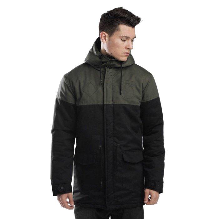 Backyard Cartel kurtka jacket Parka Long khaki black
