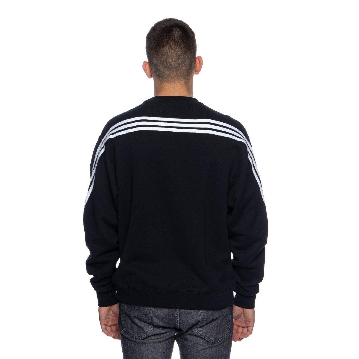 Bluza Adidas Originals 3 Stripes Wrap Crew Sweatshirt blackwhite