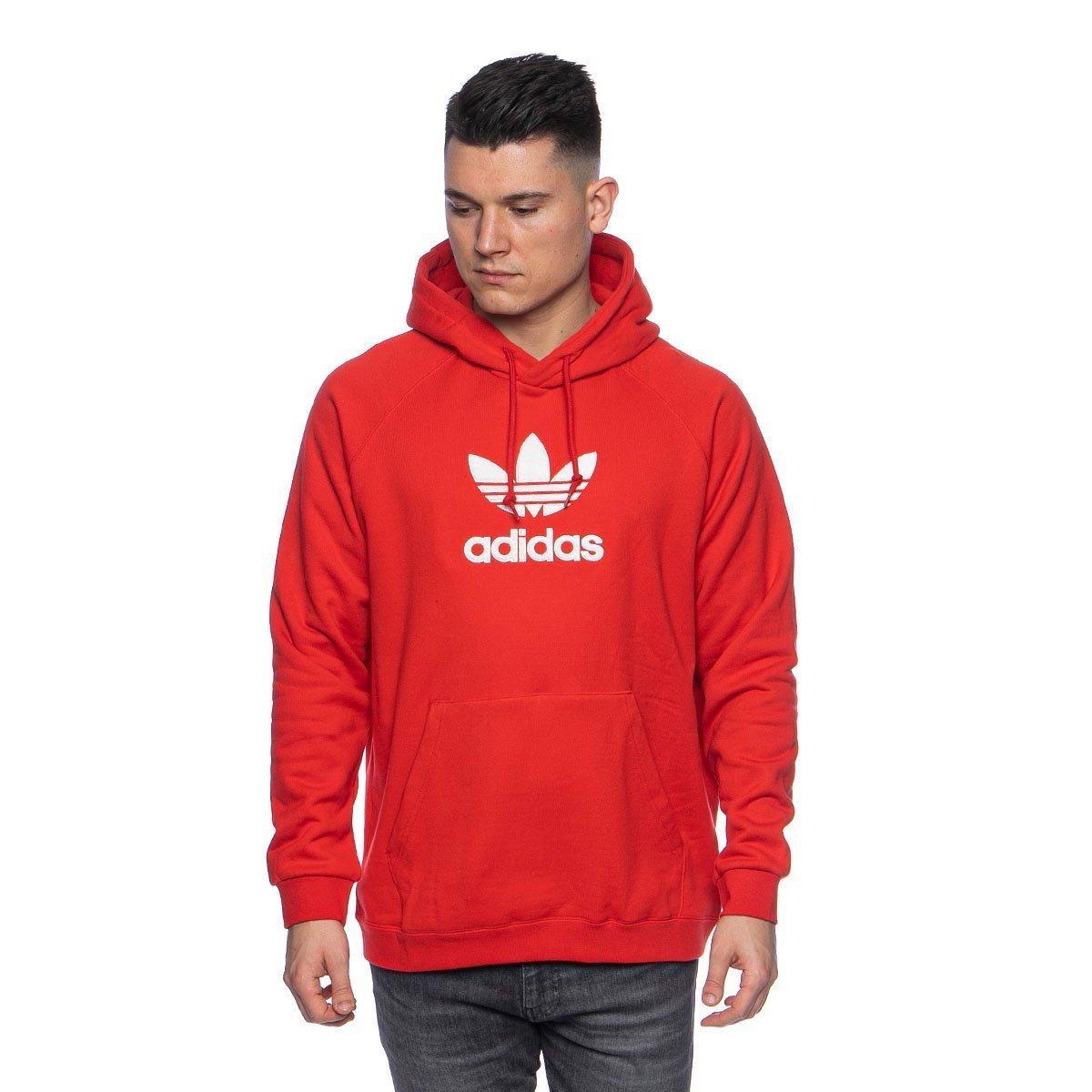 Bluza Adidas Originals ADICLR Premium Hoodie lush red