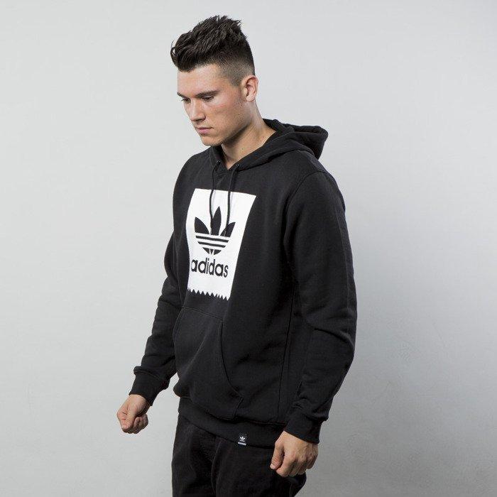 adidas Originals SOLID BB Bluza z kapturem blackwhite