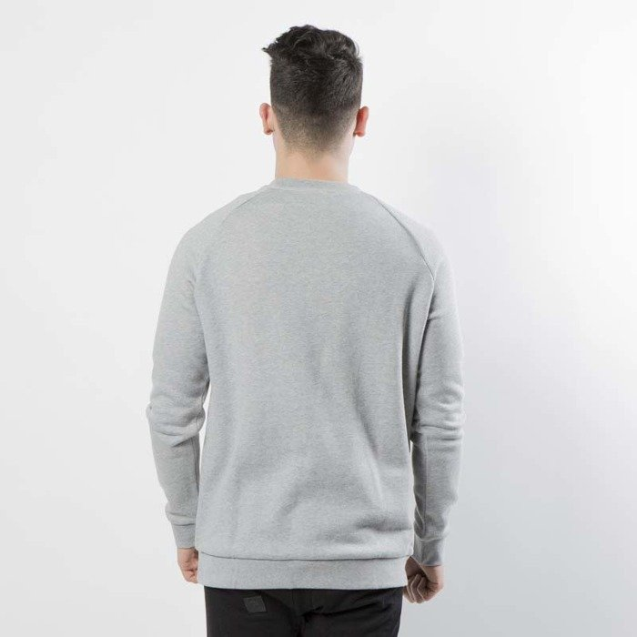 Męskie Bluza ADIDAS TREFOIL CREW MEDIUM GREY [XL]