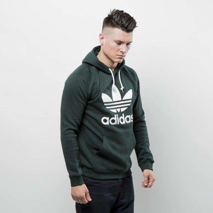 1b1f34ee5 Bluza Adidas Originals Trefoil Hoody green night BR4183 | Bludshop.com