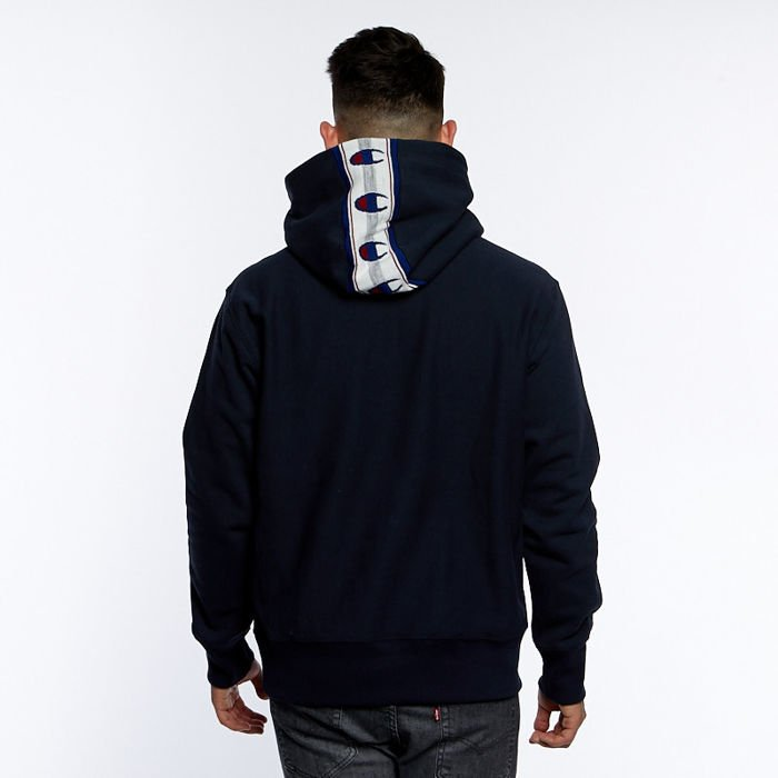 szczegółowe zdjęcia niska cena sprzedaży lepszy Bluza Champion Sweatshirt Reverse Weave Print Hoodie navy