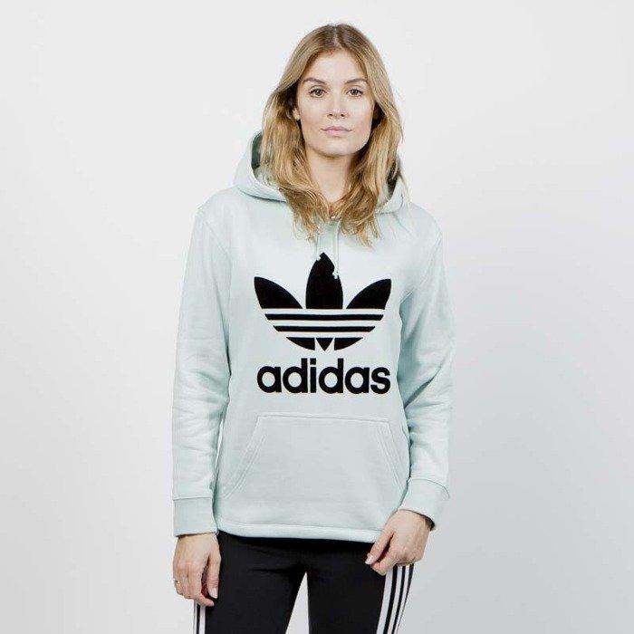 5357daa498 ... Bluza Damska Adidas Originals OS Hoodie ash green ...