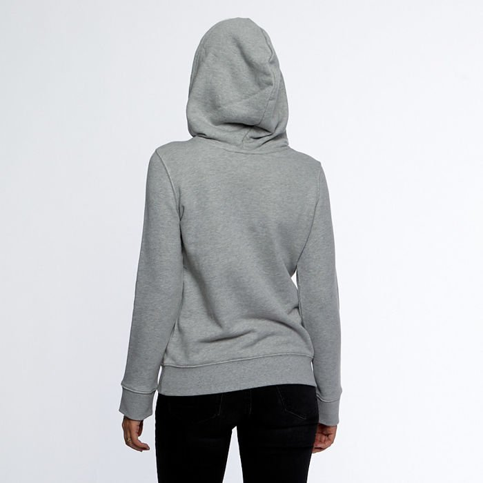 Bluza Damska Adidas Originals Trefoil Hoodie medium grey heather