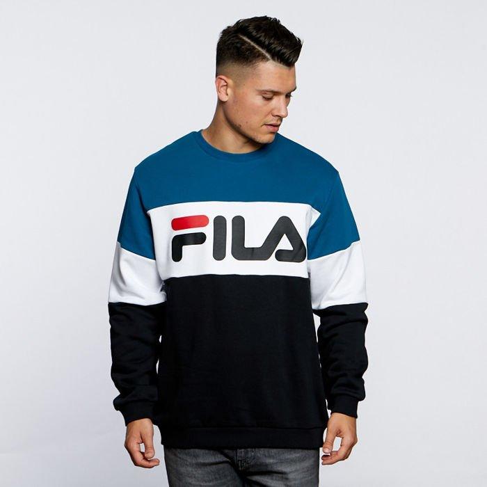 FILA BLUZA STRAIGHT BLOCKED CREW SWEAT 681255A063 | kolor