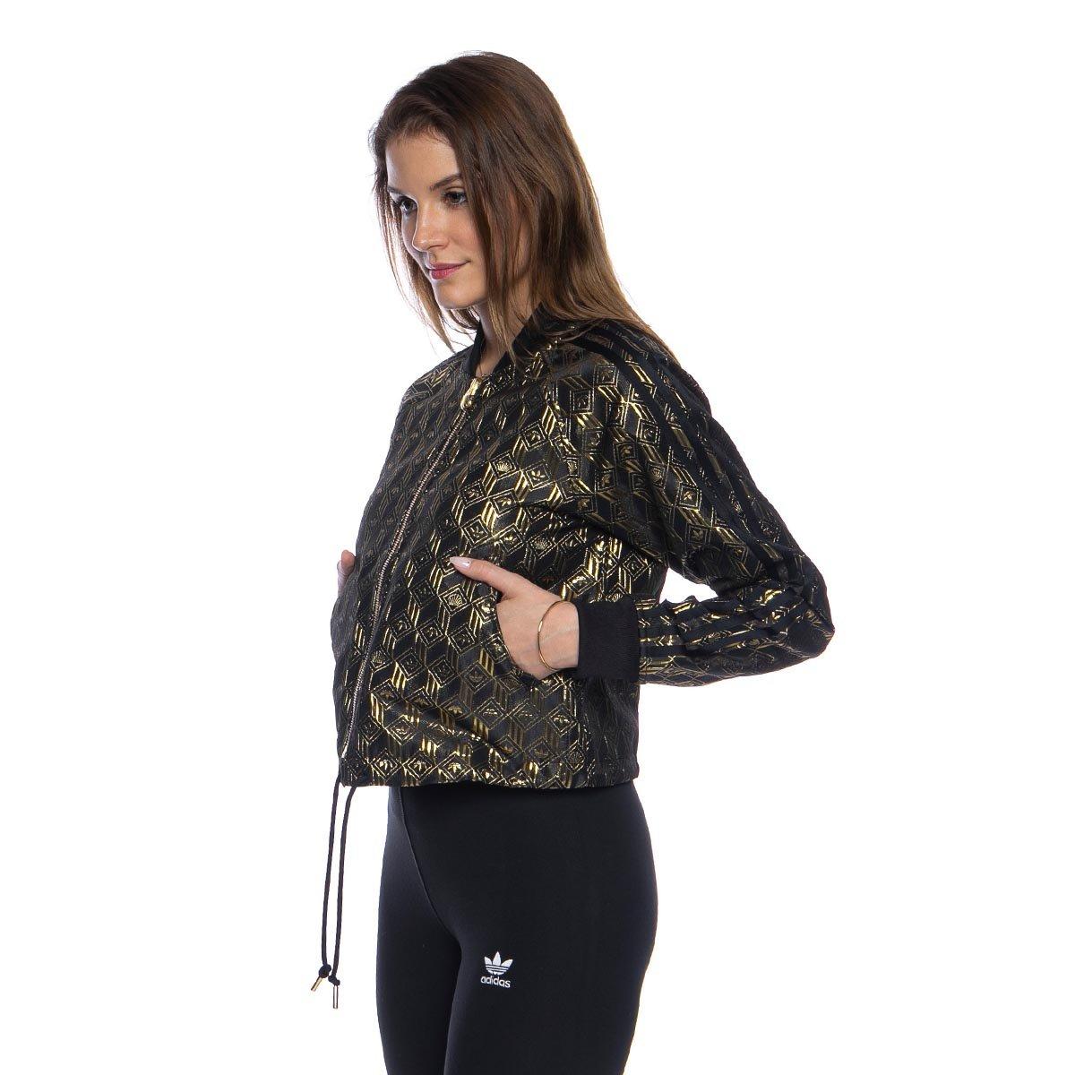 Bluza damska Adidas Originals Premium SST TT złota