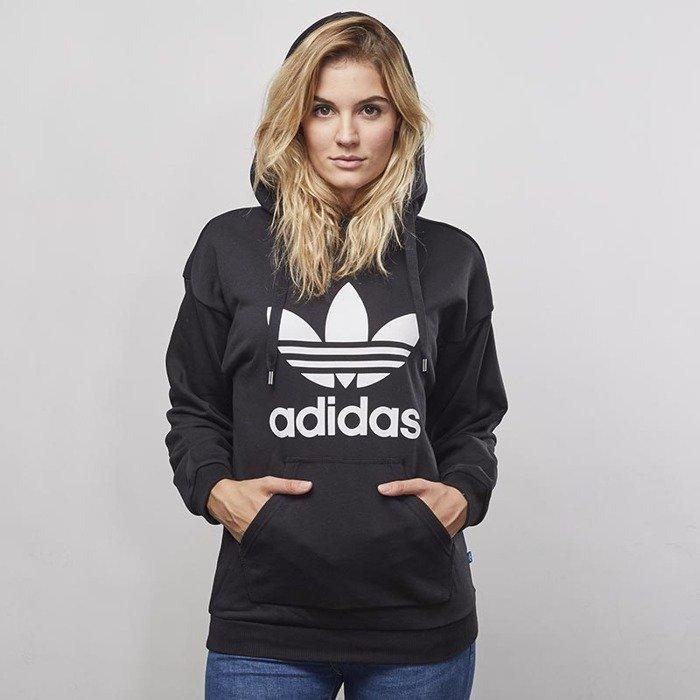 Bluza sweatshirt Adidas Originals Trefoil Hoodie black BP9482 .. ... de4f9f6613