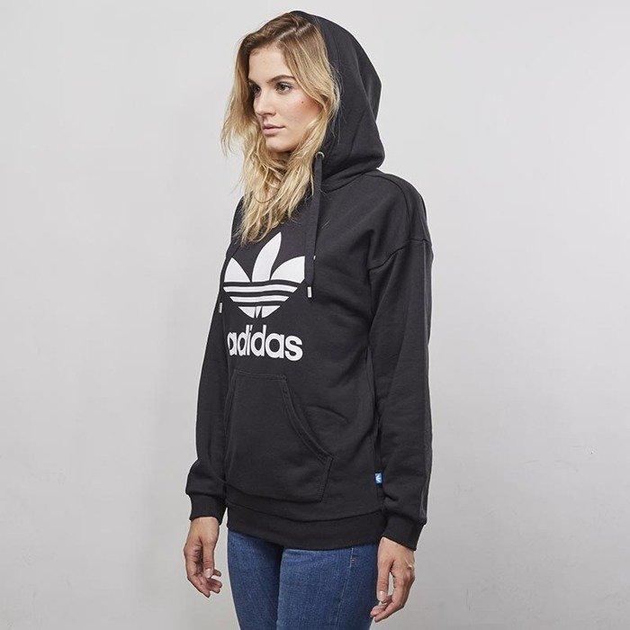 Bluza sweatshirt Adidas Originals Trefoil Hoodie black BP9482