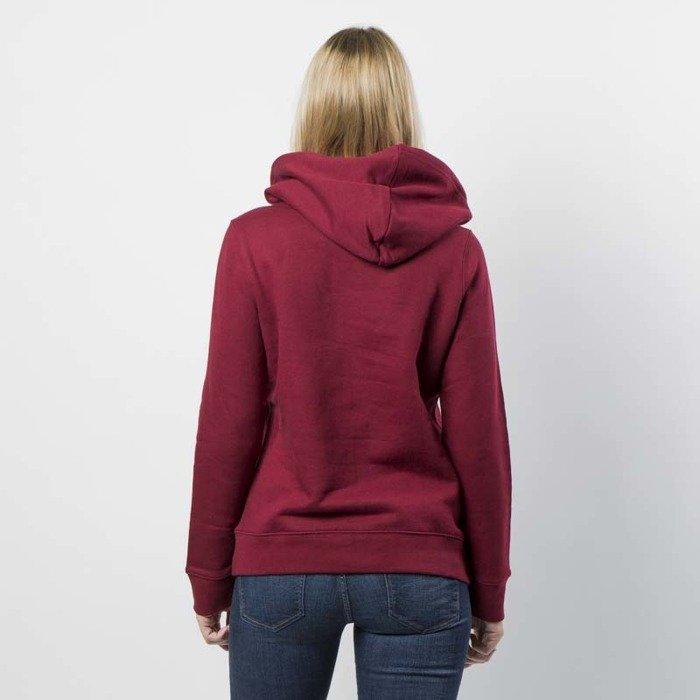 Bluza sweatshirt Adidas Originals Trefoil Hoodie collegiate burgundy CE2409
