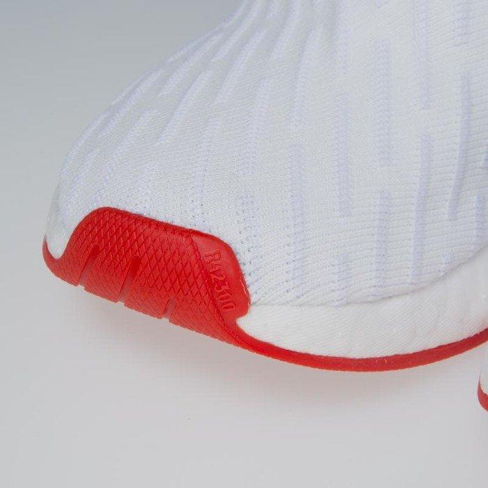 Buty Adidas Originals NMD_R2 Primeknit footwear white core red BA7253