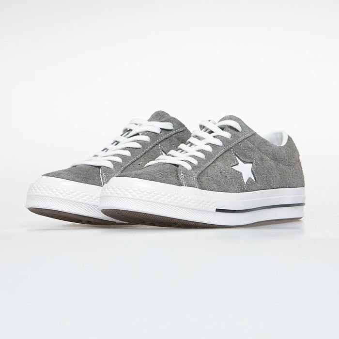 Buty Sneakers Converse One Star OX carbon greywhiteblack 165034C
