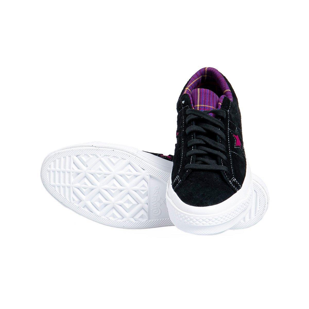 Buty Sneakers Converse One Star OX czarne (166847C)