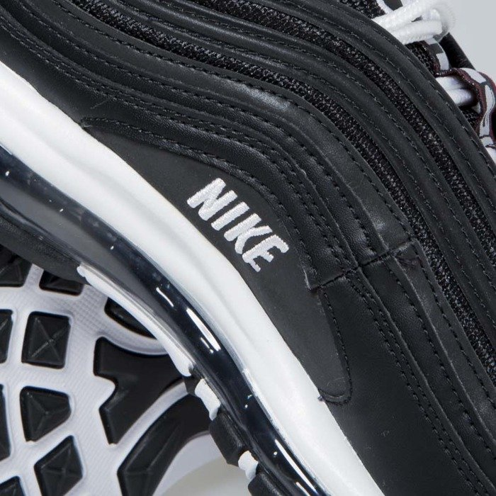 Buty sneakers Nike Air Max 97 Premium blackwhite varsity red (312834 008)