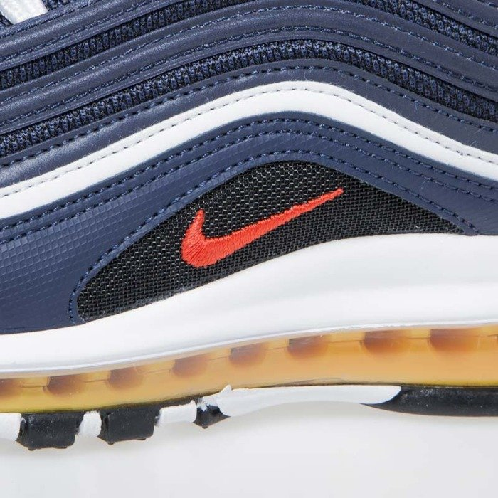 Buty sneakers Nike Air Max 97 midnight navy habanero red (921826 403)
