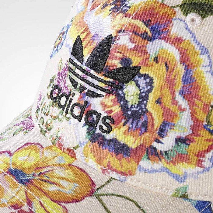 67a7e405d70a3 ... Czapka Adidas starpback Floral Print Cap halo pink   multicolor WMNS ( BR2087) ...