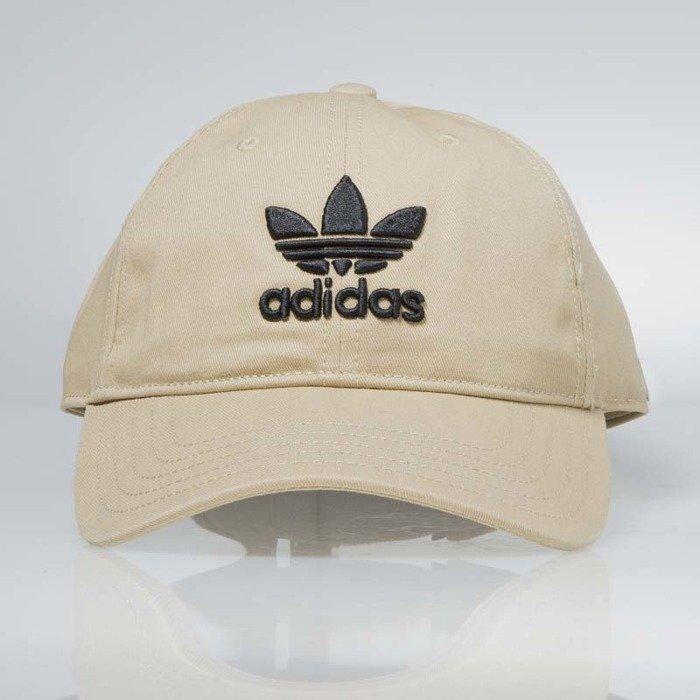 ... Czapka Adidas starpback Trefoil Cap beige black CD8802 ... 133fc3af722d